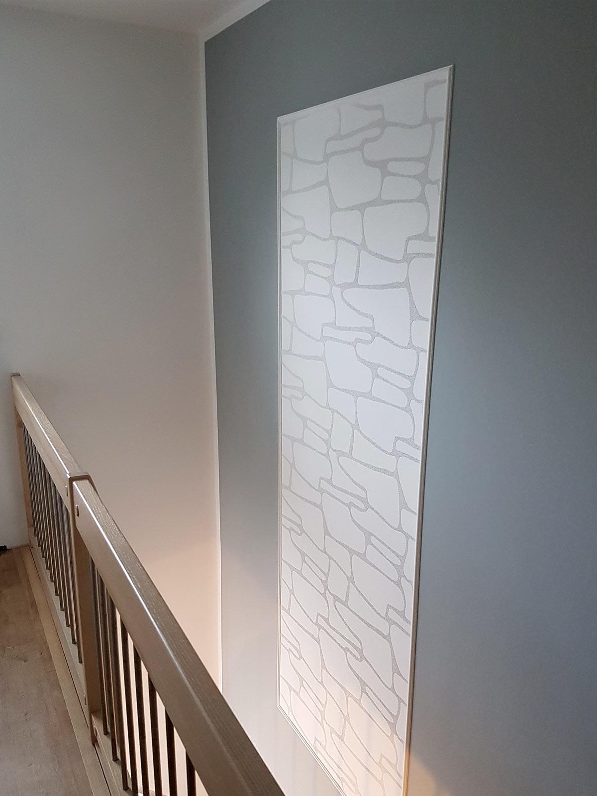 3D-Elemente-Wand-Steinstruktur
