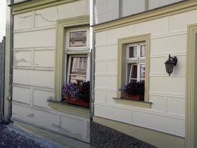 Vorher-Nachher-Fassade